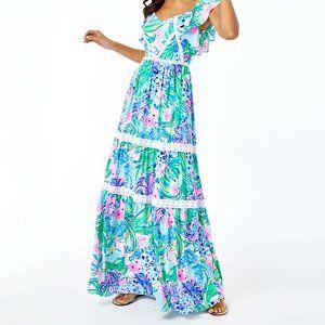 Lilly Pulitzer Ivie Maxie Dress RARE